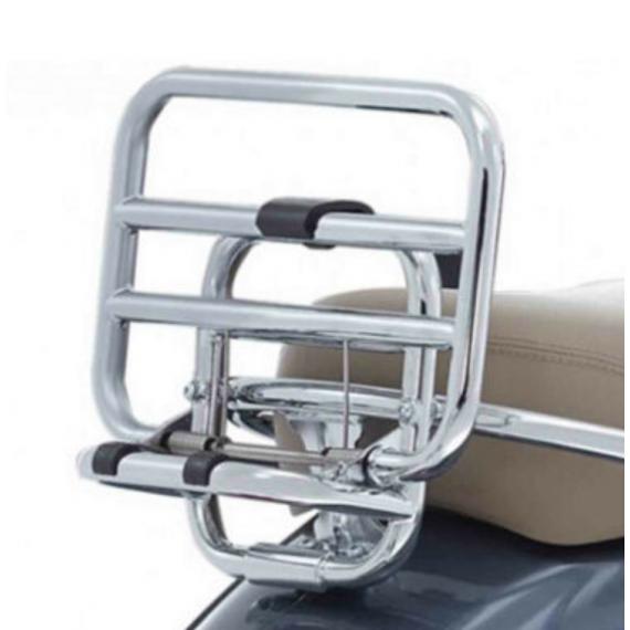 foldable rear rack