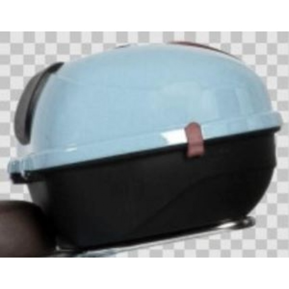 blue helmet case
