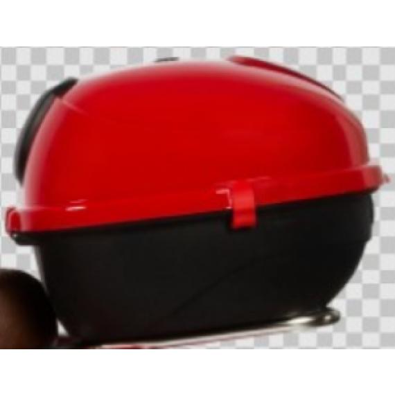 red helmet case