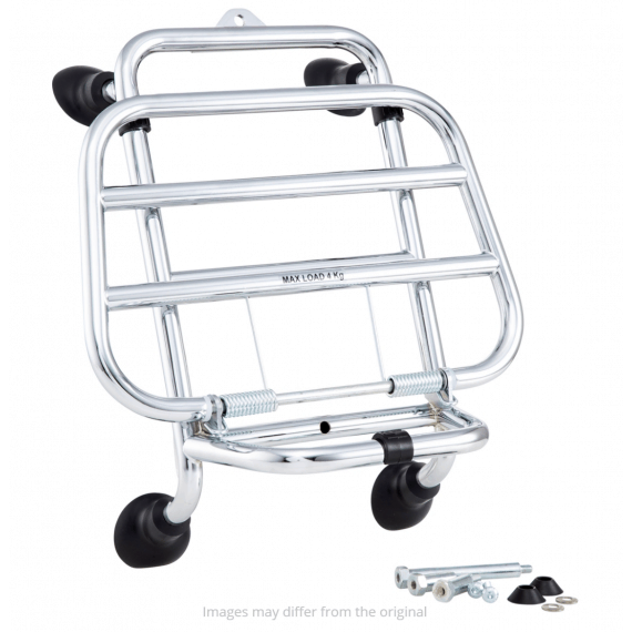foldable front rack